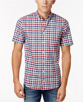 Tommy Hilfiger Men's Poplin Check Shirt