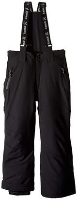 Kamik Rebel Ski Pants (Toddler/Little Kids/Big Kids) (Black/Noir) Kid's Casual Pants