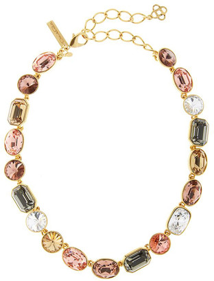 Oscar de la Renta Short Stone Crystal Necklace
