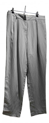 Magda Butrym Grey Viscose Trousers