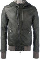 Giorgio Brato hooded zipped jacket
