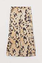 H&M Lyocell-blend Skirt - Beige