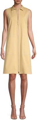 Lafayette 148 New York Theodore Sleeveless Gabardine Dress