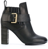 See by Chloe buckled ankle boots