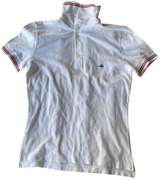 Vivienne Westwood White Cotton Polo shirts
