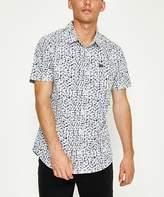 RVCA Brong Cotton Short Sleeve Shirt