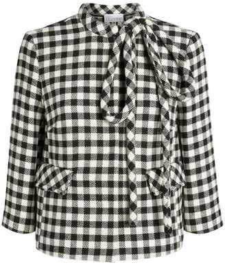 RED Valentino Check Jacket