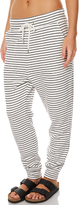 Swell Stripe Cotton Track Pant