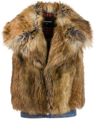 DSQUARED2 Faux-Fur Vest