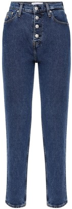 Calvin Klein Jeans Mum Fit Cotton Denim Jeans