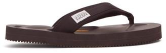 Suicoke Tono Neoprene Thong Sandals - Womens - Black