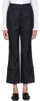 Erdem Blue Plaid Verity Trousers