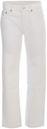 Polo Ralph Lauren Straight Leg Jeans W/lapel