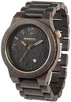 WeWood WALPBLKGLD Men's Wood Bracelet Band Watch