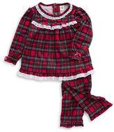 Little Me Flannel Pajama Set