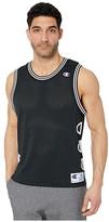 Champion LIFE Rec Mesh Top (Black) Men's Clothing