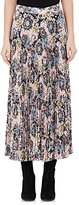 A.L.C. Women's Williams Damask-Print Mid-Length Skirt-PINK