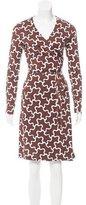 Diane von Furstenberg Terrazzo Silk Dress