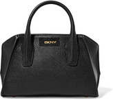 DKNY Mini textured-leather tote