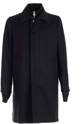 Sacai Single Breasted Long Coat