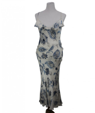 Ralph Lauren White Silk Dresses
