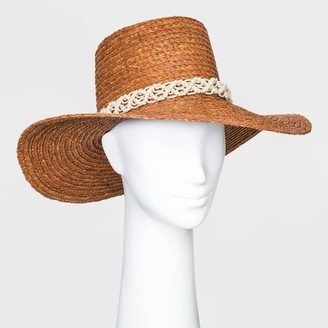 Universal Thread Women' traw Boater Hat - Univeral ThreadTM Berry