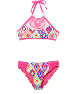 Vigoss Barbie Pink Diamond Girl Bikini - Girls