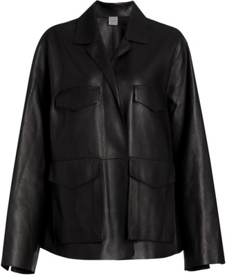 Totême Avignon Leather Jacket