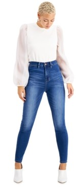 KENDALL + KYLIE Juniors' High-Rise Skinny Jeans