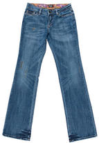 Dolce & Gabbana Distressed Wide-Leg Jeans w/ Tags