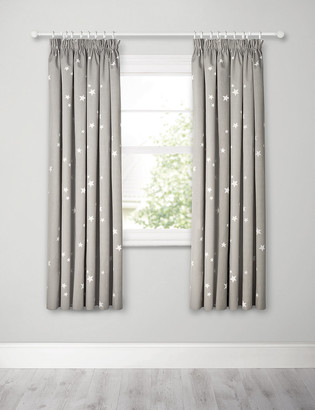 Marks and Spencer Star Pencil Pleat Blackout Kids Curtains