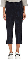 Comme des Garcons Women's Tie-Dyed Wool Twill Crop Trousers