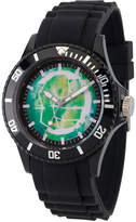 Marvel Classic Mens Black Strap Watch-Wma000065