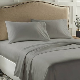 Better Homes & Gardens 400 Thread Count Solid Performance Aero Balance Bed Sheet Set, Multiple Color & Sizes