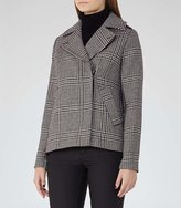 Reiss Harley Checked Coat