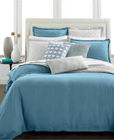 Hotel Collection CLOSEOUT! Linen Turquoise Bedding Collection, Created for Macy's