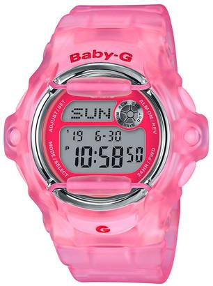 Baby-G Digital 90's Culture Theme Pink Watch BG169R-4E