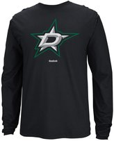 Reebok Dallas Stars NHL Jersey Crest Long Sleeve Men's T-Shirt