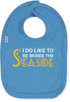 Snuglo I Do Like To Be Beside The Seaside Blue Bib By SnugloTM