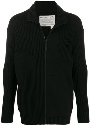 A-Cold-Wall* Knitted Zipped Cardigan