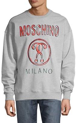 Moschino Graphic Cotton Sweatshirt