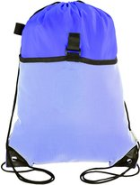 Mato & Hash Drawstring Cinch Bag Backpack With Mesh Pocket Tote Sack 2PK
