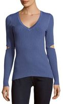 BCBGMAXAZRIA V-Neck Knit Sweater
