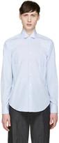 Loewe Blue and White Striped Shirt