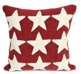 Liora Manné Frontporch Stars Indoor and Outdoor Square Pillow