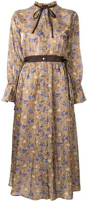 Loveless floral print shirt dress