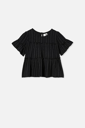 Cotton On Frida Short Sleeve Frill Top