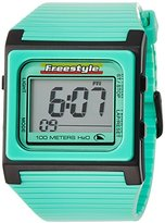 Freestyle Unisex FS84854 Speed Dial Digital Teal and Black Polyurethane Watch