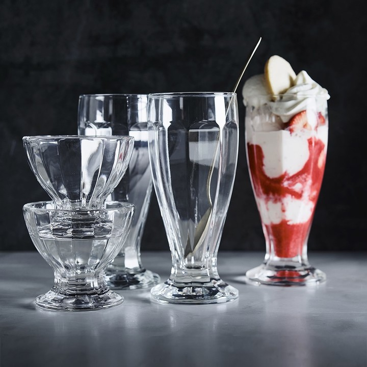 Williams-Sonoma Williams Sonoma Soda Fountain Glasses, Set of 6