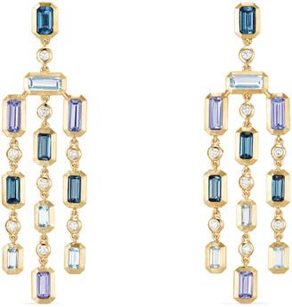 David Yurman Novella Earrings with Diamonds